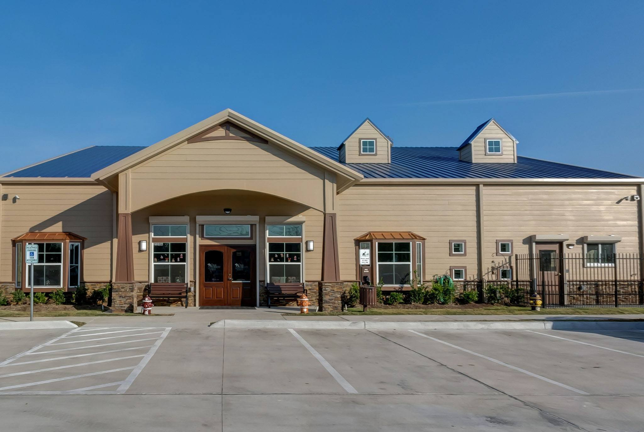 Front of Building - Houston, TX - Oak Forest Veterinary Hospital